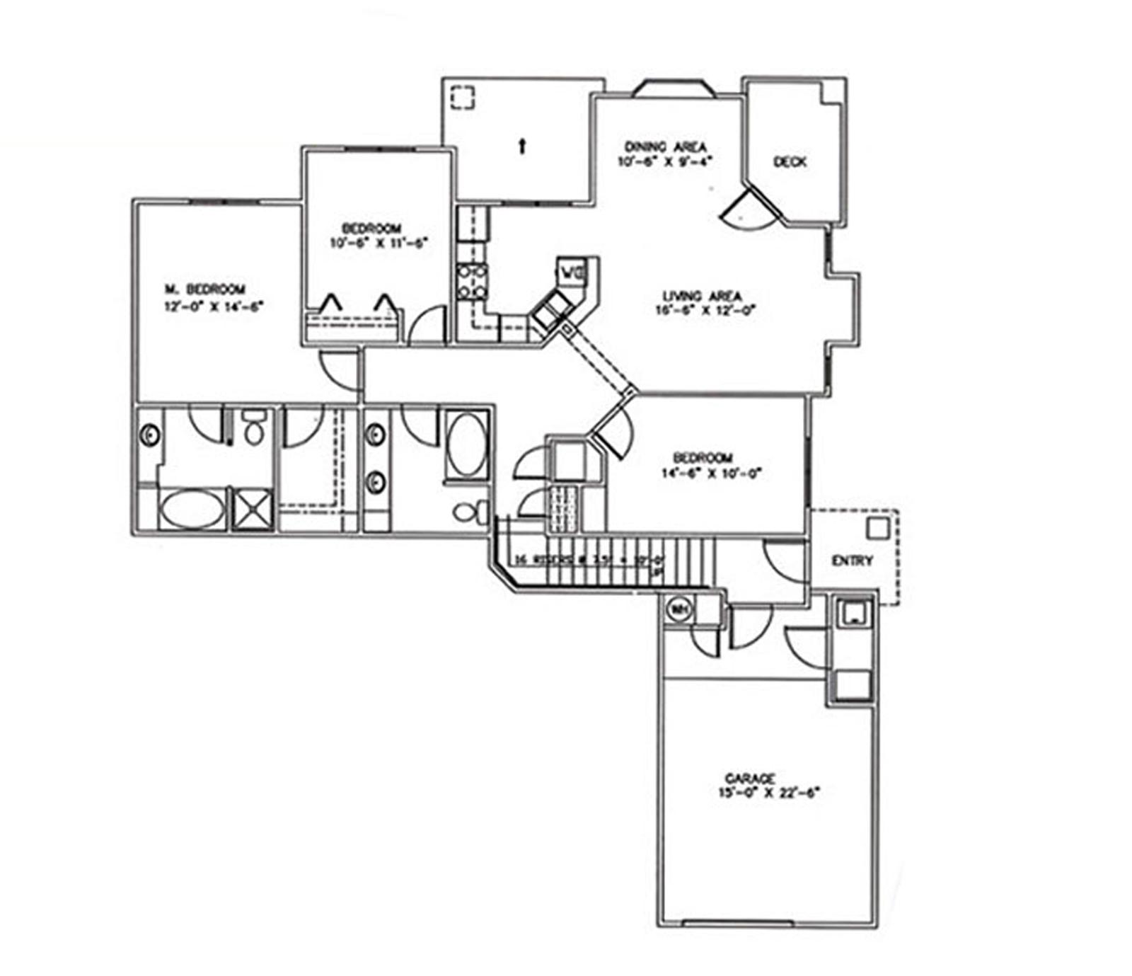 3 Bedrooms, 2 Baths, 1 Car Garage